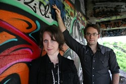 TWO ON THE ROAD :  Steve Key's Songwriters at Play showcases kick off on June 16 at The Porch with touring folk duo Misner & Smith. - PHOTO COURTESY OF MISNER & SMITH