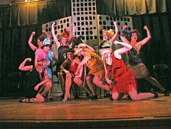 DELIGHT IN THE FLAPPER LIFESTYLE :  Seasoned director Ryan Cordero helms the Central Coast premiere of the 2002 Tony Award-winning musical, Thoroughly Modern Millie. Based on the popular 1967 movie, starring Julie Andrews and Carol Channing, this lively show is full of memorable songs and d - IMAGE COURTESY OF DONNA SELLARS
