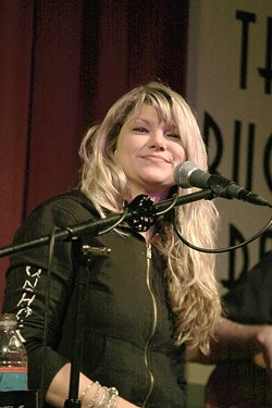 DAUGHTER OF BARBAROSA! :  Willie's kid Paula Nelson will front her blues, rock, and country band during the same Nov. 21 concert. - PHOTO COURTESY OF PAULA NELSON