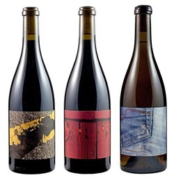 BRIGHT AND BOLD:  Herman Story wines feature close-ups of common sights, via unexpected angles. - IMAGE COURTESY OF HERMAN STORY WINES