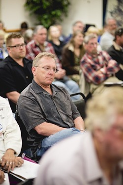 NEWBIE:  Though a veteran of the oil industry, Dero Parker of PEOCO said the process for his latest project on the Porter Ranch has already encountered more negative reactions than he's used to. - PHOTO BY HENRY BRUINGTON