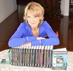 BOOKED SOLID:  Wendelin Van Draanen has written 18 books in the Sammy Keyes series—though the last one won't be available until fall of 2014. - PHOTO COURTESY OF WENDELIN VAN DRAANEN