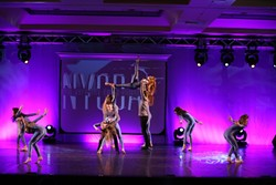 TRIPPING THE LIGHT FANTASTIC:  Students at Ryan's American Dance can certainly put on a show. The new space at Studio @ will give them even more of an opportunity to let their creativity and talent shine. - PHOTO COURTESY OF RYAN'S AMERICAN DANCE
