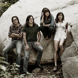 NEW ALT-COUNTRY SHERIFFS :  Nocona brings its alt-country sounds to Frog and Peach on Jan. 19. - PHOTO COURTESY OF NOCONA