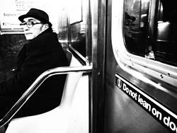 "STREET SCENE :  Heeko Kumagae of Kitakyushu-shi, Fukuoka, Japan, isn't afraid to get up close and personal with his random street subjects. An artist's reception for his show ""America through Japanese Eyes"" kicks off at 6 p.m. on Oct. 23 at 15 Degrees C Wine Bar. - PHOTO BY HEEKO KUMAGAE"
