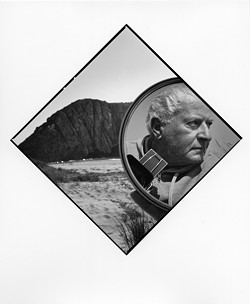 OLD MAN AND THE SEA:  Tress (pictured) got his start in photography as a kid when his sister gave him a camera. Over the course of nearly 50 years, he's become primarily renowned for his surreal portraits of people. - PHOTO BY ARTHUR TRESS