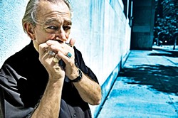 GOOD TIME CHARLIE :  The always-amazing Charlie Musselwhite, who recently returned to Alligator Records with his Grammy-nominated new release The Well, hits SLO Brew on April 29. - PHOTO BY STEJAN FALKE