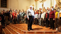 HEAVEN AND NATURE SING!:  The Vocal Arts Ensemble performs Joyous Sounds of Christmas on Dec. 5 at 8 p.m. at Cambria Community Presbyterian Church, Dec. 6 at 8 p.m. at Mission San Luis Obispo de Tolosa and Dec. 7 at 3 p.m. at the PAC. Tickets cost $25-$30 for the Dec. 5 concert, $ - PHOTO BY STEVE E. MILLER