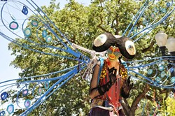 PERFORMANCE ART:  It's ARTFEST, so you know the entertainment is going to be arty, too. - PHOTO COURTESY OF STUDIOS ON THE PARK