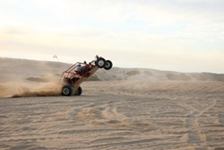 CULPRIT :  Motorsports on the dunes may be curtailed because of the air pollution they cause. - FILE PHOTO BY STEVE E. MILLER