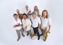 "SEVEN SEAS :  The septet Zongo All-Stars headline the C.O.A.S.T Alliance free ""S.O.S! Save Our Seas Music Festival"" on Nov. 11 at Tidelands Park in Morro Bay. - PHOTO COURTESY OF ZONGO ALL-STARS"