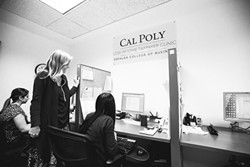 HELP AND TAXES :  If you qualify as low-income, trained Cal Poly students are ready to help you sort out your taxes. - PHOTO BY HENRY BRUINGTON