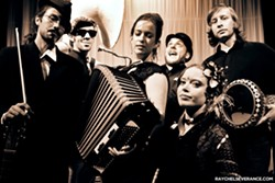 CIRCUS FREAKS :  Portland's awesome Underscore Orkestra plays Steynberg Gallery on March 29. - PHOTO BY RAYCHEL SEVERANCE