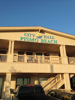 Pismo Beach City Hall - FILE PHOTO BY RHYS HEYDEN