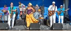 LET'S PARTY!:  Brazilian Carnaval band SambaDá plays SLO Brew on Feb. 8. - PHOTO COURTESY OF SAMBADA