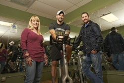 FIGHTING FOR THEIR FUTURE :  Kat Roach (left), Daniel Pitocco (center), and Matt Reid (right) are banding together to help veterans overcome mental health issues. - PHOTO BY STEVE E. MILLER