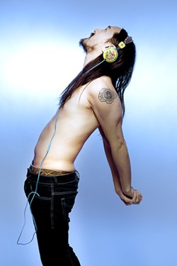 THE WORLD'S MOST ICONIC! :  Dance music producer and DJ Steve Aoki headlines a show at the Alex Madonna Expo Center on Dec. 1. - PHOTO COURTESY OF STEVE AOKI