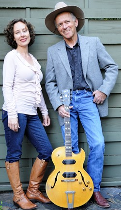 SONGWRITERS AT PLAY! :  Ted Waterhouse and Ynana Rose of the Swingin' Doors are but two of many performers playing Nov. 21 at the Spot. - PHOTO COURTESY OF THE SWINGIN DOORS