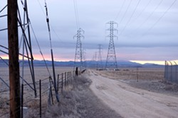 WHAT'S NEXT? :  After solar-power developer Ausra sold its Carrizo Energy Solar Farm to First Solar, many are left wondering how the new design will look and whether it will eliminate the feared environmental impacts of the original design. - PHOTO BY STEVE E. MILLER