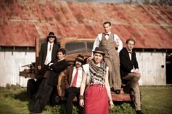"1940S' CALLING :  Good Medicine Presents hosts Royal Jelly Jive on May 14 at SLO Brew. Expect ""Gypsy rock and soul jive."" - PHOTO COURTESY OF ROYAL JELLY JIVE"