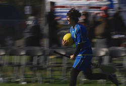 MAGICAL FOLK:  The documentary 'Mudbloods' follows the UCLA Quidditch team as they raise money to compete in the Quidditch World Cup in New York City. - PHOTO COURTESY OF SLOIFF