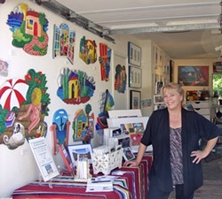 IN BETTER TIMES:  Catherine Lee Neifing will be offering her works at a discount in her home studio on Oct. 19 in an effort to pay for growing medical bills. - PHOTO COURTESY OF CATHERINE LEE NEIFING
