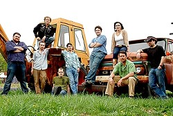 DRIVE YOUR TRACTOR! :  Americana folk collective Red Rooster hits the Clubhouse on Dec. 6. - PHOTO COURTESY OF RED ROOSTER