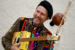 CRAVING MORE CRAVEN :  On June 27 at Matt's Music in Paso, musical mastermind Joe Craven will offer a workshop and concert. Get in touch with your musical side, or sit back and listen to one of the most entertaining dudes anywhere! - PHOTO COURTESY OF JOE CRAVEN