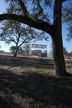 WINE COUNTRY :  The venue is being built next to the Paso Robles Hospitality Center at the Vina Robles Winery & Vineyards. - PHOTO BY WYATT DEXTER