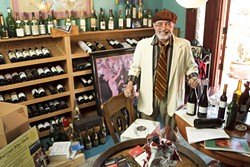 WINE APLENTY :  Archie McLaren is still all smiles in the last weeks of organization for the Central Coast Wine Classic. - PHOTO BY STEVE E. MILLER