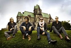 ROCK STARS! :  Stone Temple Pilots play Avila Beach Resort on Aug. 21. - PHOTO COURTESY OF STONE TEMPLE PILOTS