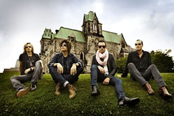 ROCK STARS! :  Stone Temple Pilots play Avila Beach Resort on Aug. 21. - PHOTO COURTESY OF STONE TEMPLE PILOTS