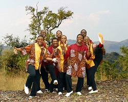 OUT OF AFRICA :  South Africa's cultural musical ambassadors and premier male a cappella ensemble, Ladysmith Black Mambazo, return to the Performing Arts Center's Cohan Center on Jan. 22. - PHOTO COURTESY OF LADYSMITH BLACK MAMBAZO