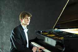 FROM RUSSIA WITH LOVE :  Pianist Alexander Sinchuk is the featured soloist on March 21 in the Performing Arts Center's Cohan Center when The Moscow State Radio Symphony Orchestra performs. - PHOTO COURTESY OF ALEXANDER SINHUK