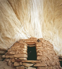 "FLAME SITE:  Dr. Donald J. Rommes, a Santa Maria neonatologist and photographer, is sharing his photography at the San Luis Obispo Museum of Art in the show ""The Cliff Dwellers of Cedar Mesa."" - PHOTO BY DONALD J. ROMMES"