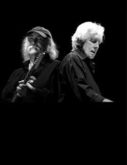 HARMONY CENTRAL :  Expect stunning harmonies when David Crosby and Graham Nash play April 4 at the PAC. - PHOTO COURTESY OF CROSBY & NASH