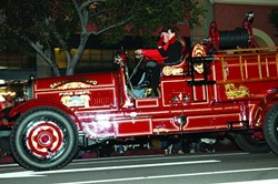 HAPPY HOLIDAYS :  Don't miss the Downtown Association's 36th annual Holiday Parade on Dec. 7. - PHOTOS BY DEBORAH CASH