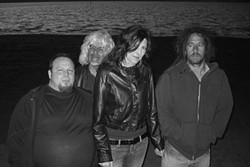 NEW ON THE SCENE :  Mettling Gretel—featuring Christine Rhoades (vocals), Paul Duggan (guitars), Jambo Vera (bass), and Luis Munge (drums)—plays its debut gig at Camozzi's Saloon on March 5. - PHOTO COURTESY OF MEDDLING GRETEL