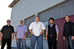 ROCKIN' IN THE FREE WORLD :  Bay Area rocker the Pat Jordan Band plays Aug. 6 at Sweet Springs. - PHOTO COURTESY OF THE PAT JORDAN BAND