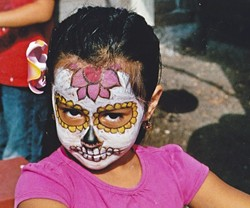 GENERATIONS OF FUN:  Dia de los Muertos celebrations like the one happening at the Dana Adobe in Nipomo include family-friendly activities like face painting, arts and crafts, and candy making. - PHOTO COURTESY OF THE DANA ADOBE NIPOMO AMIGOS