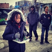 I BELIEVE I CAN FLY :  Actors Zen Lester, Tyree M. Singetary, and Malakot Barker are pictured in this still from Robert Kolodny's Fly on Out, shot on location in Brooklyn. - PHOTO COURTESY OF ADAM KOLODNY AND SERENA REYNOLDS