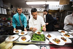 DINE OUT:  In a food rut? Allow January Restaurant Month to coax you out of culinary hibernation. Restaurants across SLO County are offering a feast of prix fixe menus for $30 to $40 this month. - PHOTO COURTESY OF VISIT SAN LUIS OBISPO COUNTY