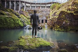 DAMMED IF YOU DO:  Biologist and underwater photographer Matt Stoecker produced the film with Patagonia founder Yvon Chouinard. - PHOTO BY BEN KNIGHT