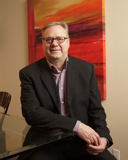 STEVE BLAND :  serves on the board of directors for both ARTS Obispo and the SLO Symphony. - PHOTO BY STEVE E. MILLER