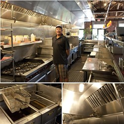 BEYOND CLEAN :  Leonard Cohen, owner of Cipinot and Olde Port Inn, is one of two restaurateurs to score a 100% mark from the Health Department in regards to proper food handling. - PHOTO BY STEVE E. MILLER