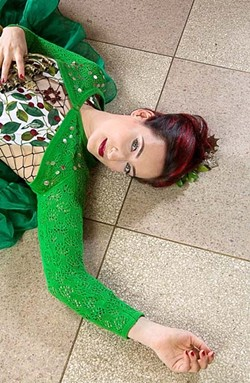 """PLAYFUL SCHTICK :  New York City songstress Rachael Sage brings her """"Sequins and Shpiel"""" show to the Pour House in Paso Robles on Sept. 9. - PHOTO COURTESY OF RACHAEL SAGE"""