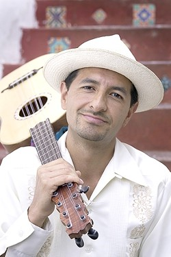SON JAROCHO :  The Mexican folk music of multi-instrumentalist Jorge Mijangos happens on Dec. 5 at St. Benedict's Episcopal Church. - PHOTO COURTESY OF JORGE MIJANGOS