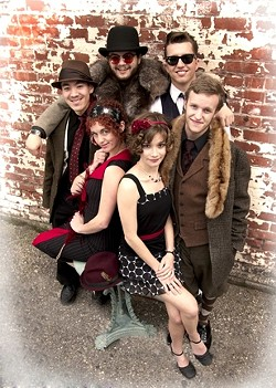 YOUNG SWINGERS! :  On July 15 at Arroyo Grande's Rotary Bandstand, check out a swinging concert featuring the Red Skunk Band delivering a blistering show of hot swing music from the '20s and '30s. - PHOTO COURTESY OF RED SKUNK