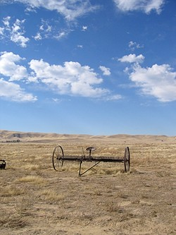 GREAT WIDE OPEN :  Miles of sun-soaked flat grassland make a prime place for solar power plants and roaming indigenous species, but not both, environmentalist worry. - FILE PHOTO