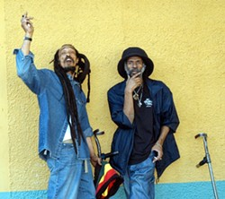FEEL THE VIBE :  Legendary reggae act Israel Vibrations plays Downtown Brew on Sept. 5. - PHOTO COURTESY OF ISRAEL VIBRATIONS